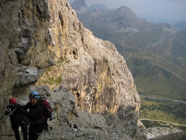 Dolomite's Via Ferrata