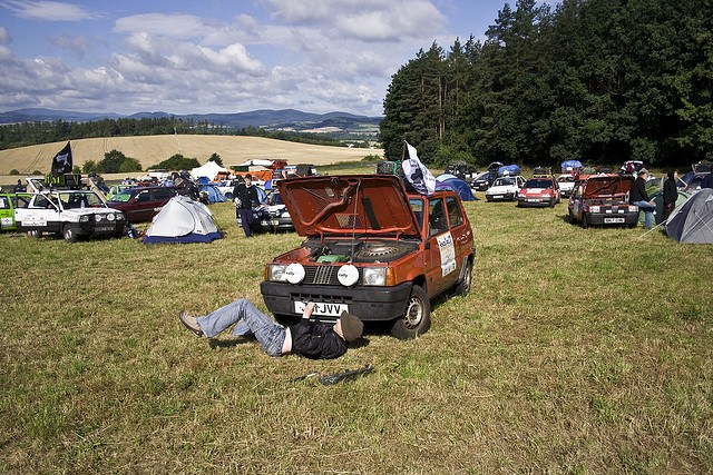 Mongol Rally (photo: Sam Greenhalgh)