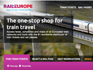 Win a Eurail Global Pass for Two with Rail Europe
