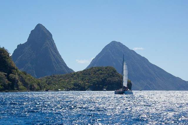 The Two Pitons, St. Lucia
