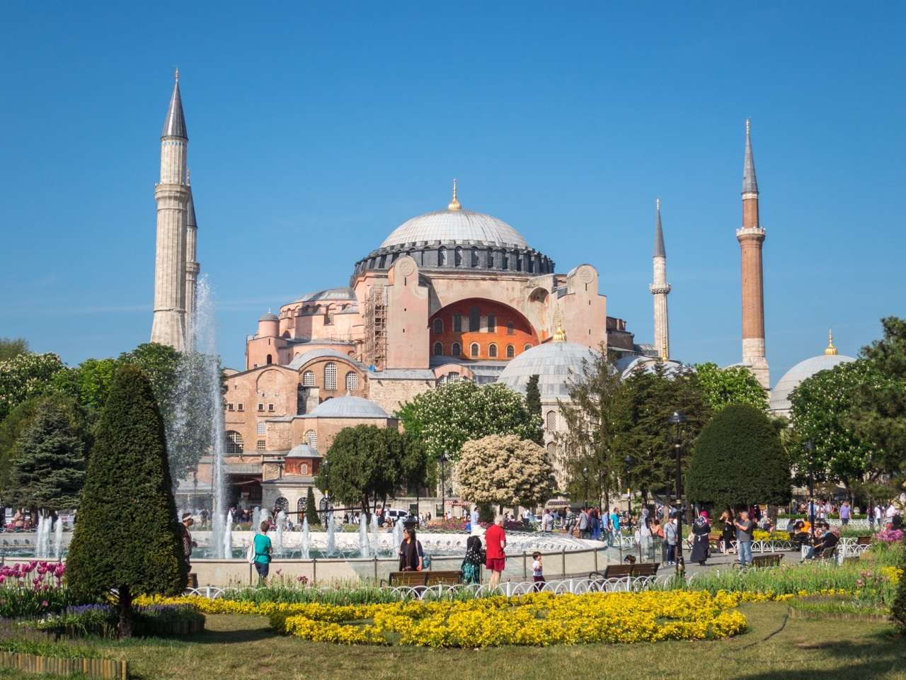Visiting Hagia Sophia is one of the top things to do in Istanbul, Turkey.