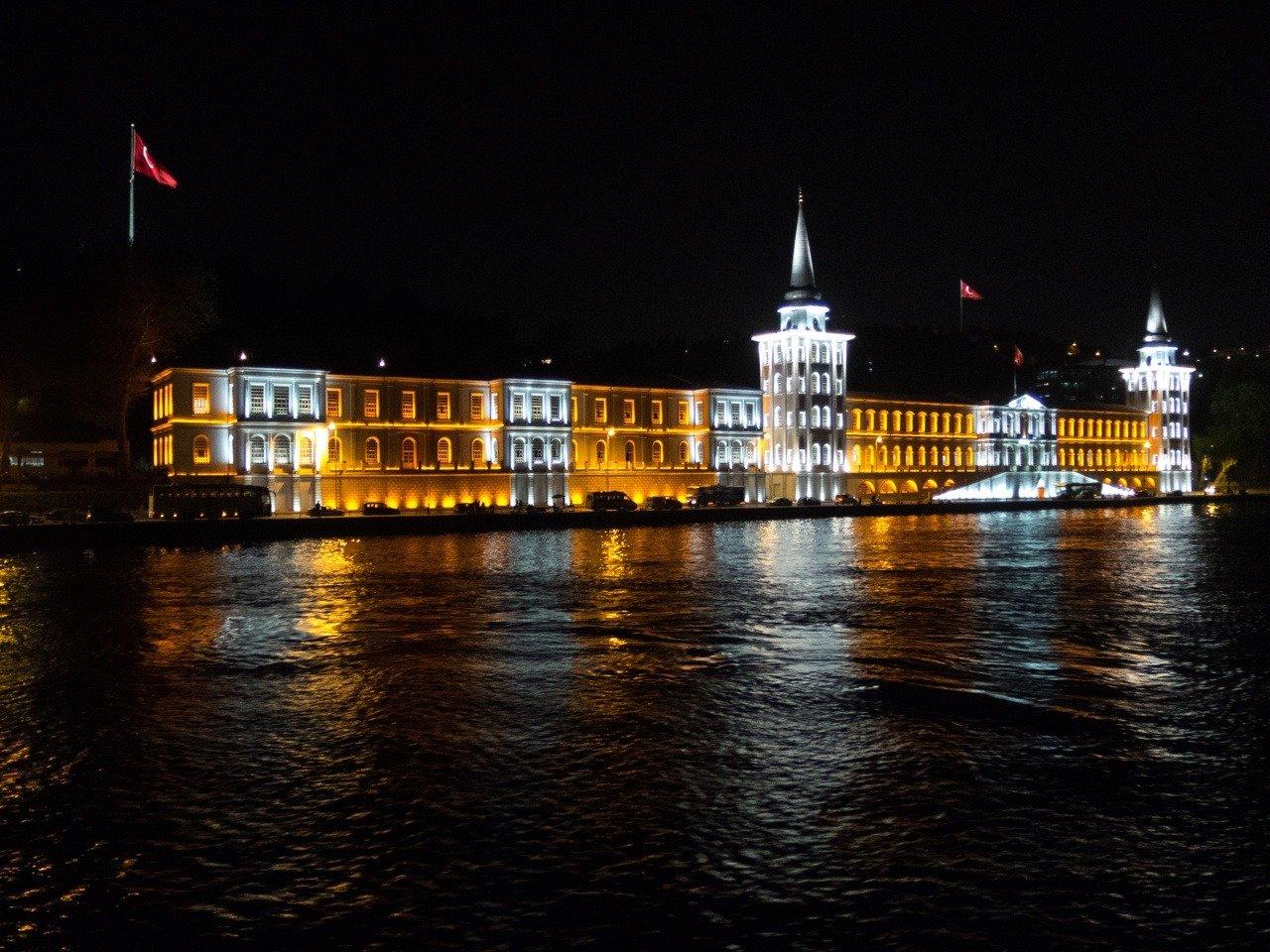 A military school on the Bosphorus.