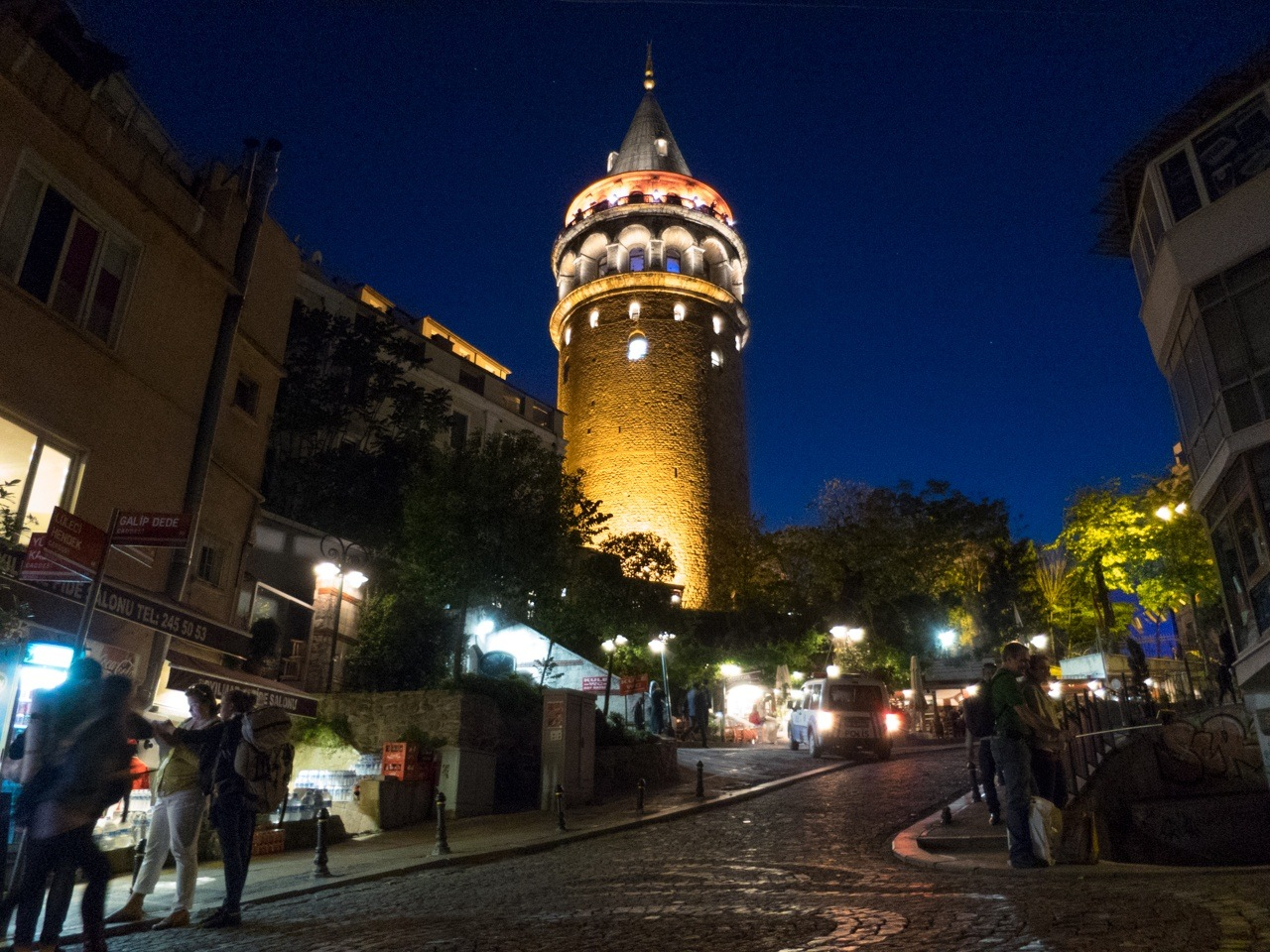 Going up Galata Tower is one of the best things to do in Istanbul.