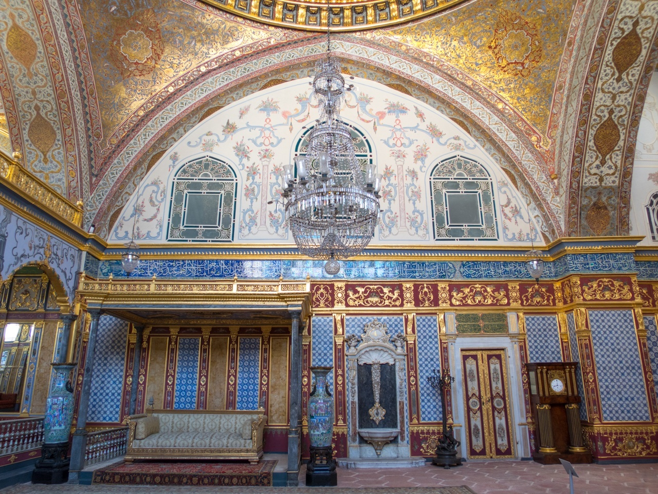 A room in the harem at Topkapi Palace