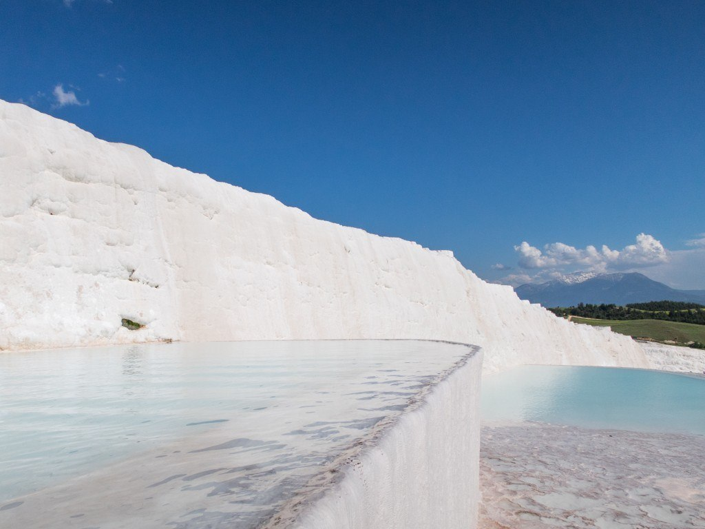 Natural springs at Pamukkale