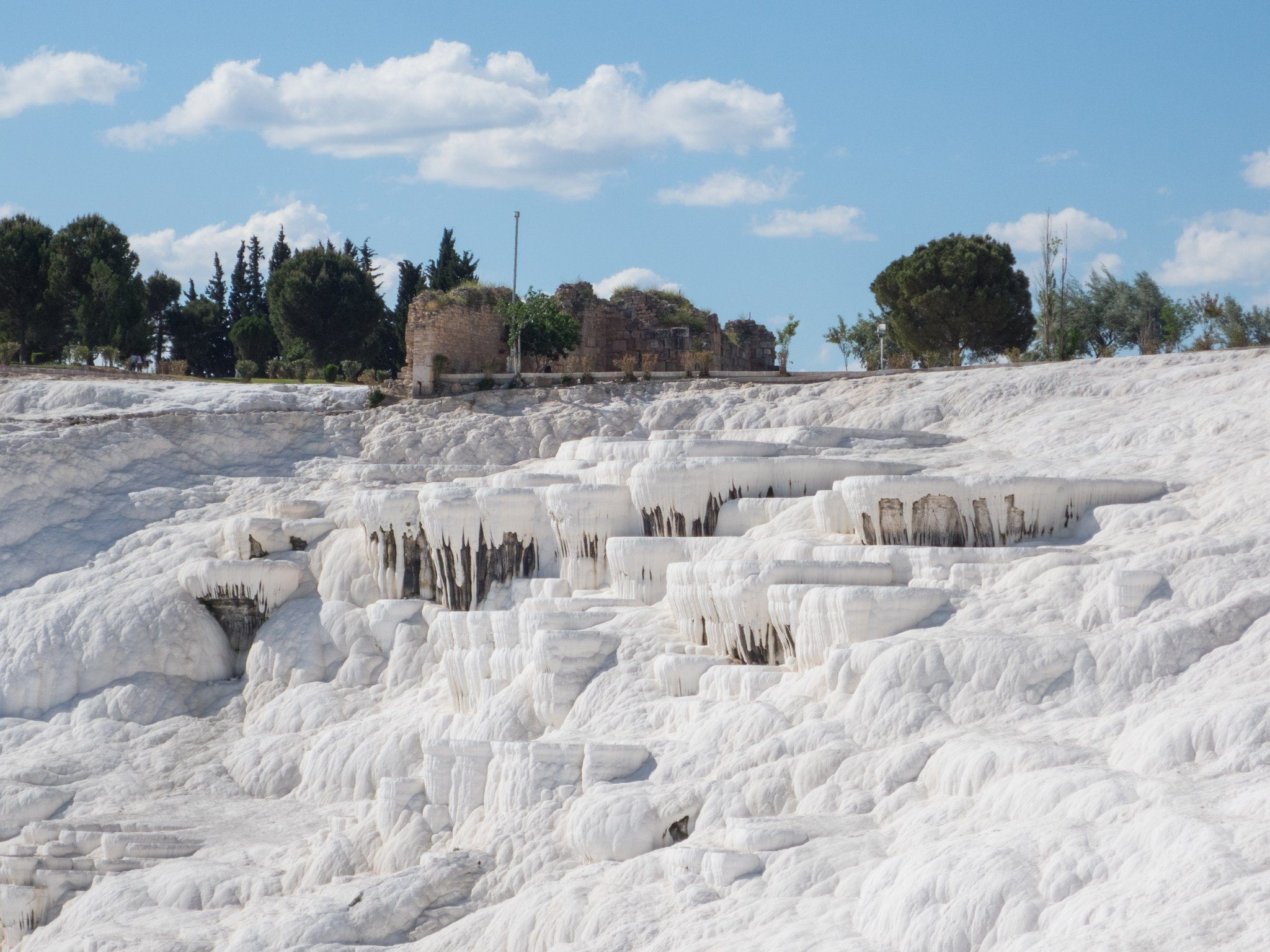 """The otherworldly Pamukkale, meaning """"cotton castle"""" in Turkish."""