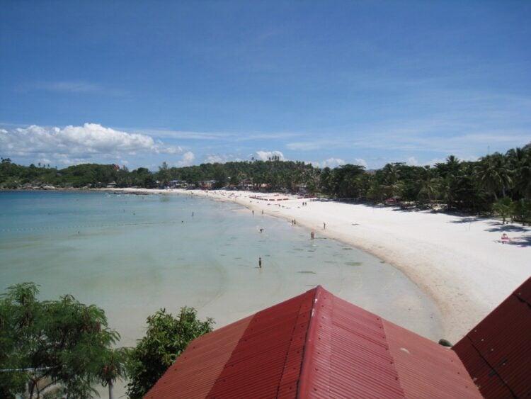 Haad Rin Beach on Koh Phangan