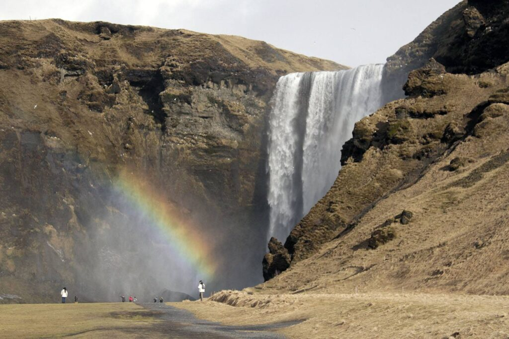 Skógafoss Waterfall in Southern Iceland