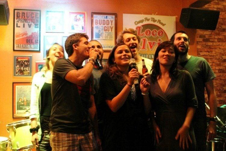 Karaoke night! Image source.
