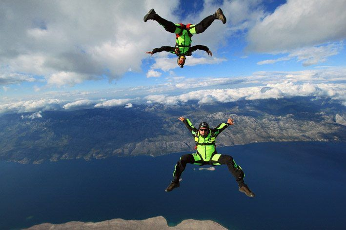 Skydiving in Croatia
