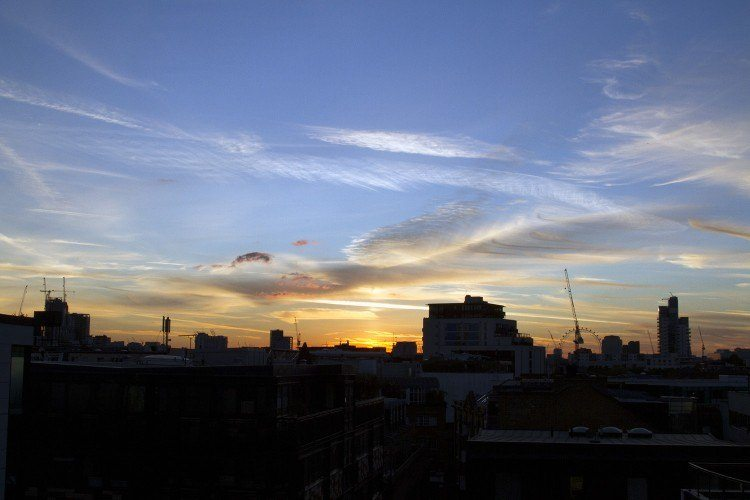 London sunset