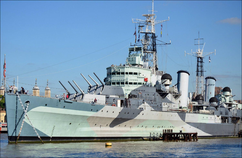 HMS Belfast (photo: George Rex)