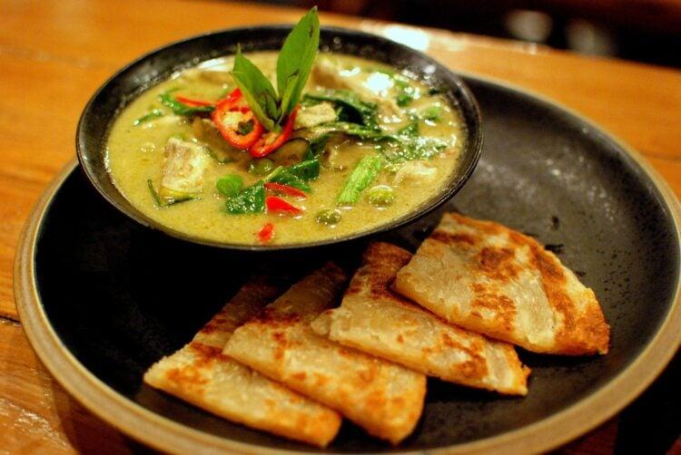 Bangkok food scene, green curry