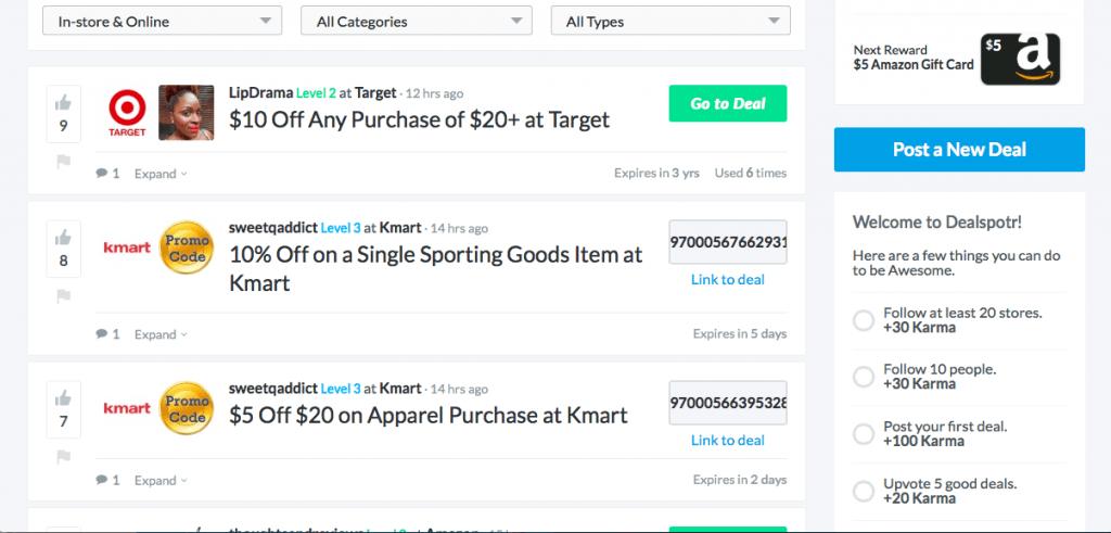 Grab a bargain at a high street store