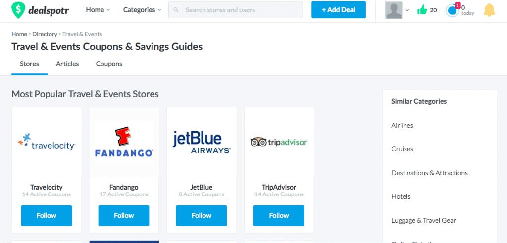 Save money on top travel sites
