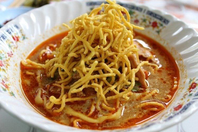 Bangkok food scene, khao soi