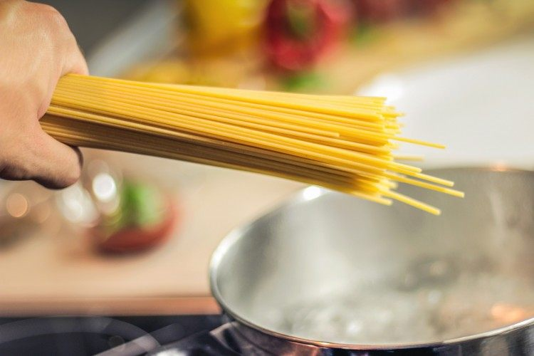 Pasta is one of the easiest meals you can make in a hostel