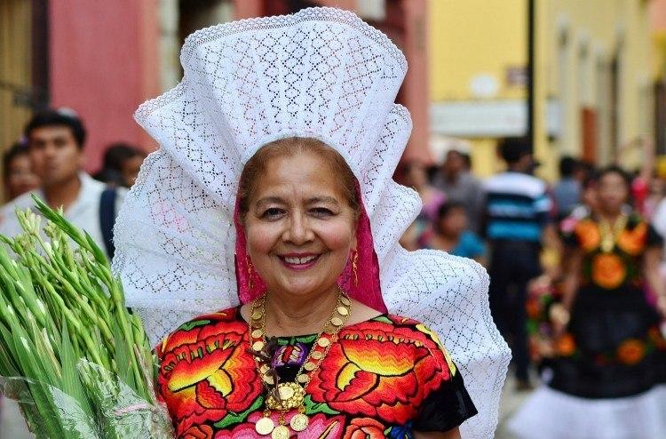 Woman in Oaxaca