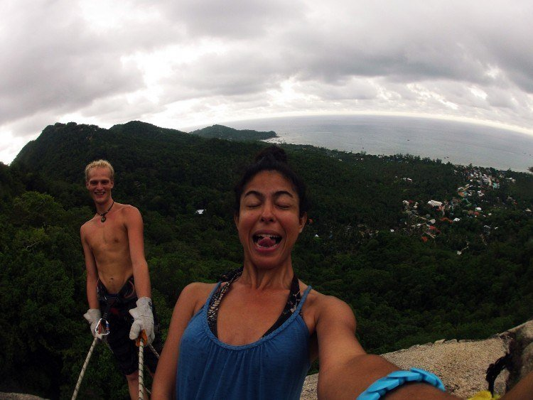 Rappelling, Koh Tao attractions