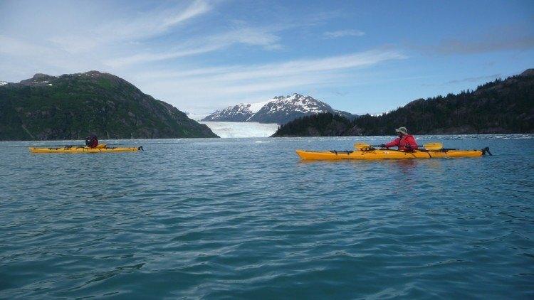Kayaking Prince William Sound