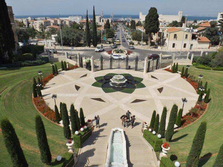 Hanging Gardens in Haifa