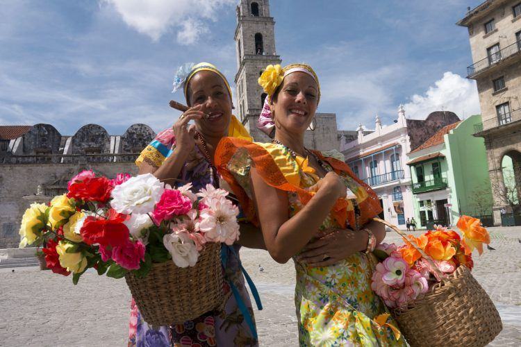 Ladies in Havana