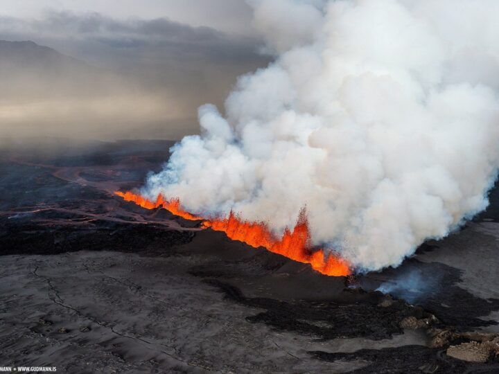 Volcanic eruption in Holuhraun