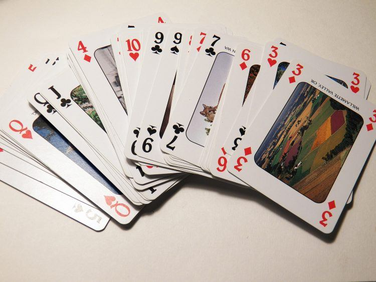 staying fit anywhere, deck of cards workout