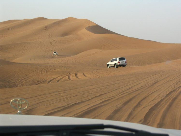 Desert Safari, one of many things to do in Dubai