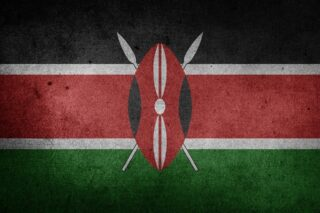 Go backpacking Kenya, flag