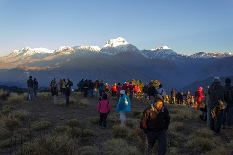 Sunrise on Poon Hill