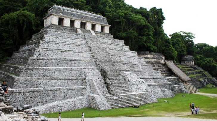 TV tourism, Palenque Mexico