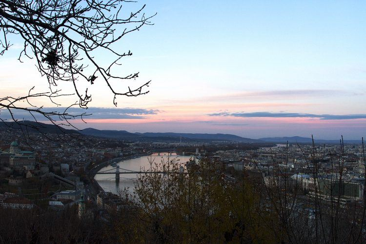 Budapest is beautiful in the wintertime.