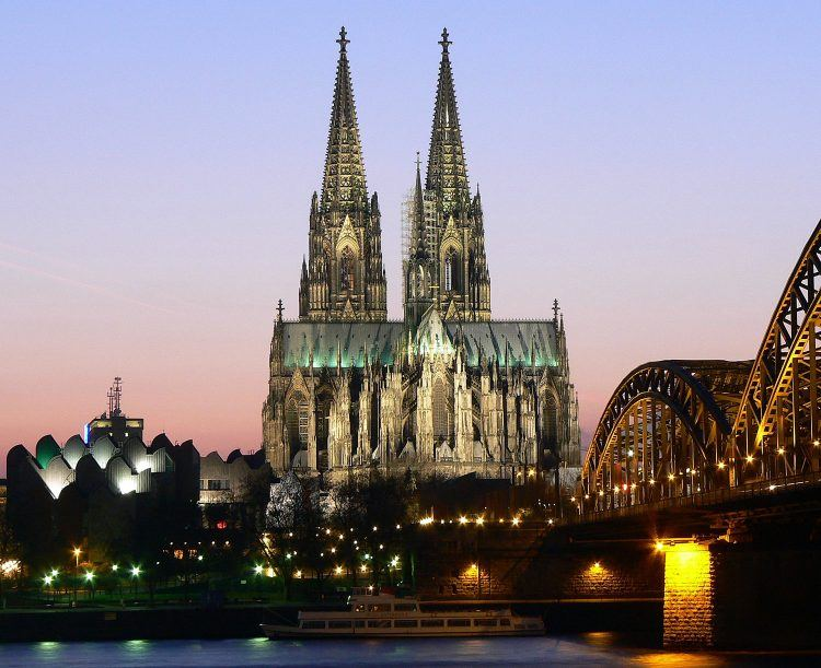 Cologne's famous cathedral (Credit: Wiki Commons)