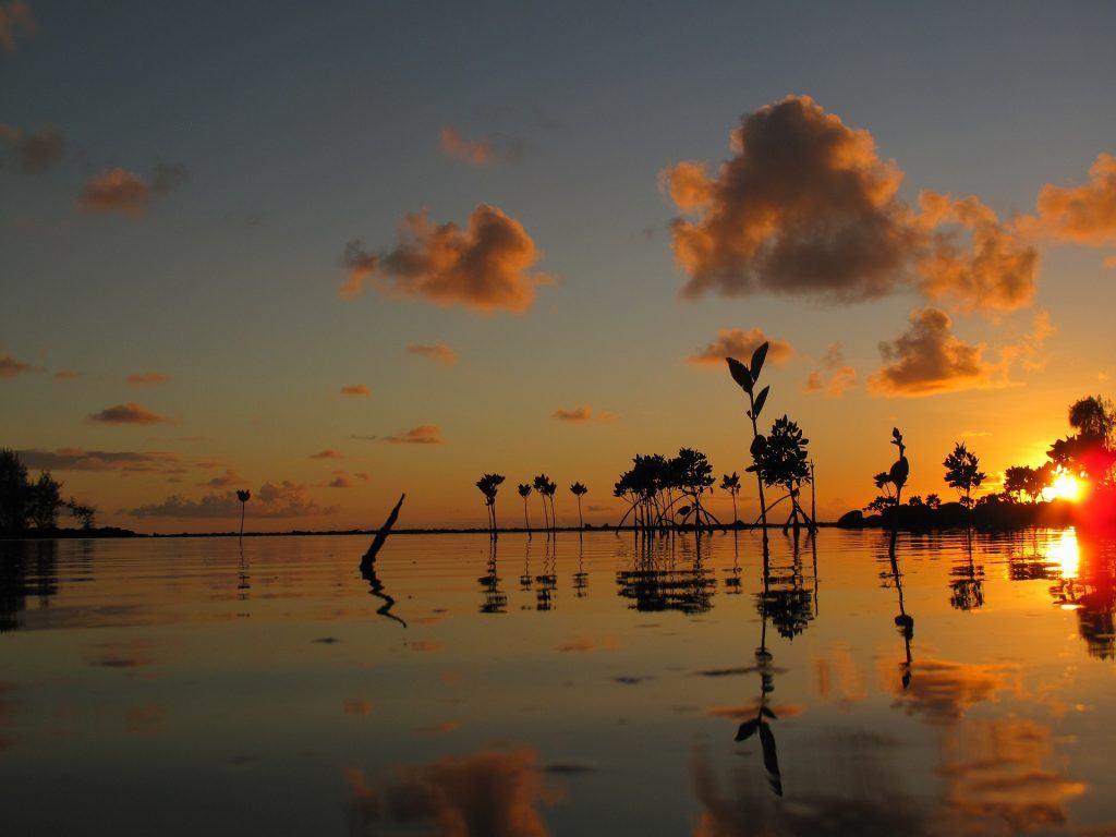 Sunrise on Mauritius