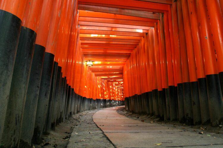 Fushimi Inari-taisha in Kyoto (photo: Wiki Commons)