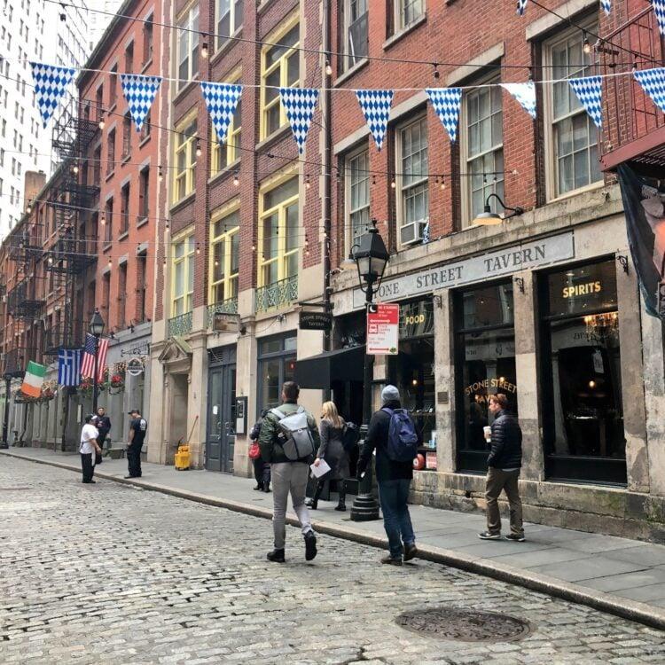 Stone Street - NYC