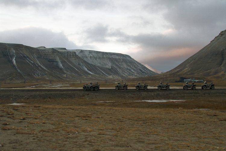 ATV adventuring in Svalbard