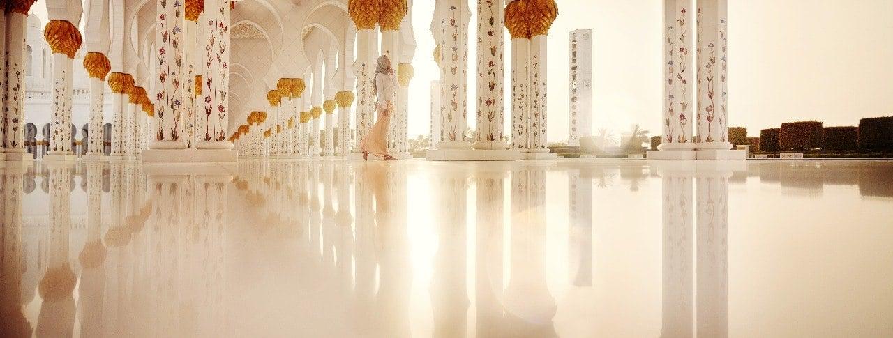 Abu Dhabi Grand Mosuqe