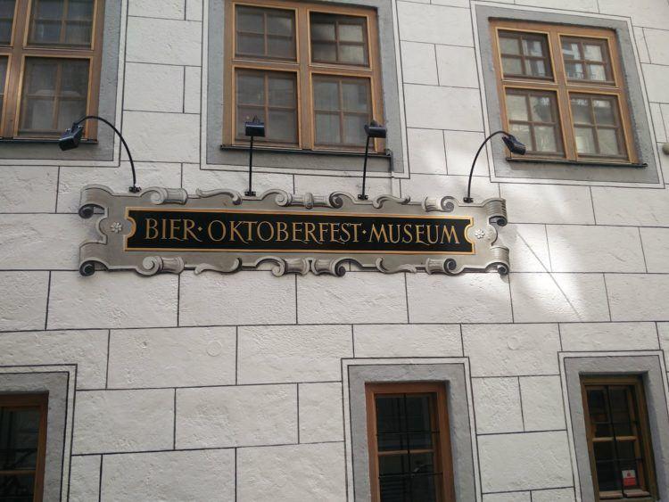 Beer and Oktoberfest Museum in Munich