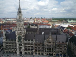 rathaus munich city hall
