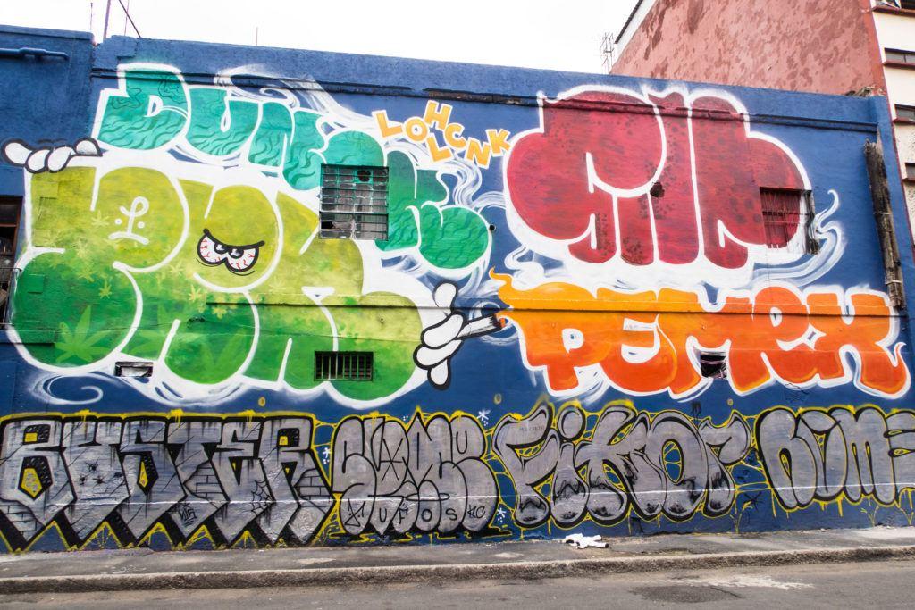 Big graffiti - Mexico City