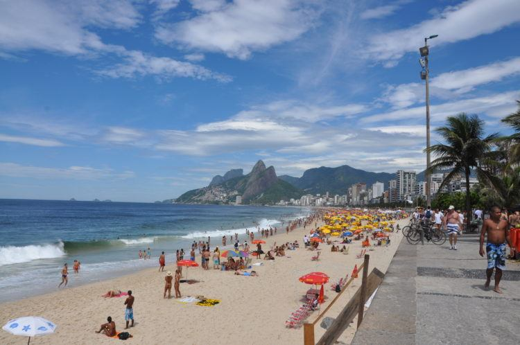 Ipanema Beach, Rio de Janeiro (photo: Mike Vondran)