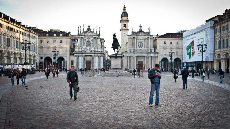 Piazza San Carlo - Turin - Italy