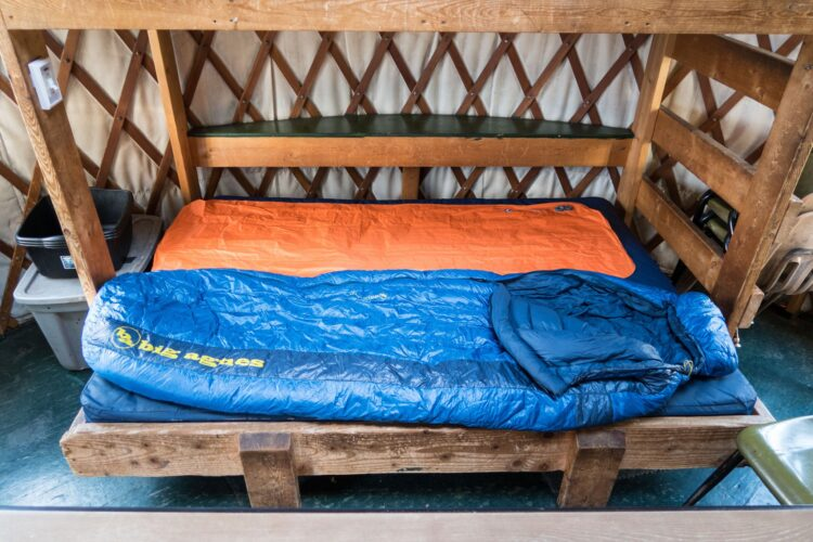 Big Agnes sleeping bag