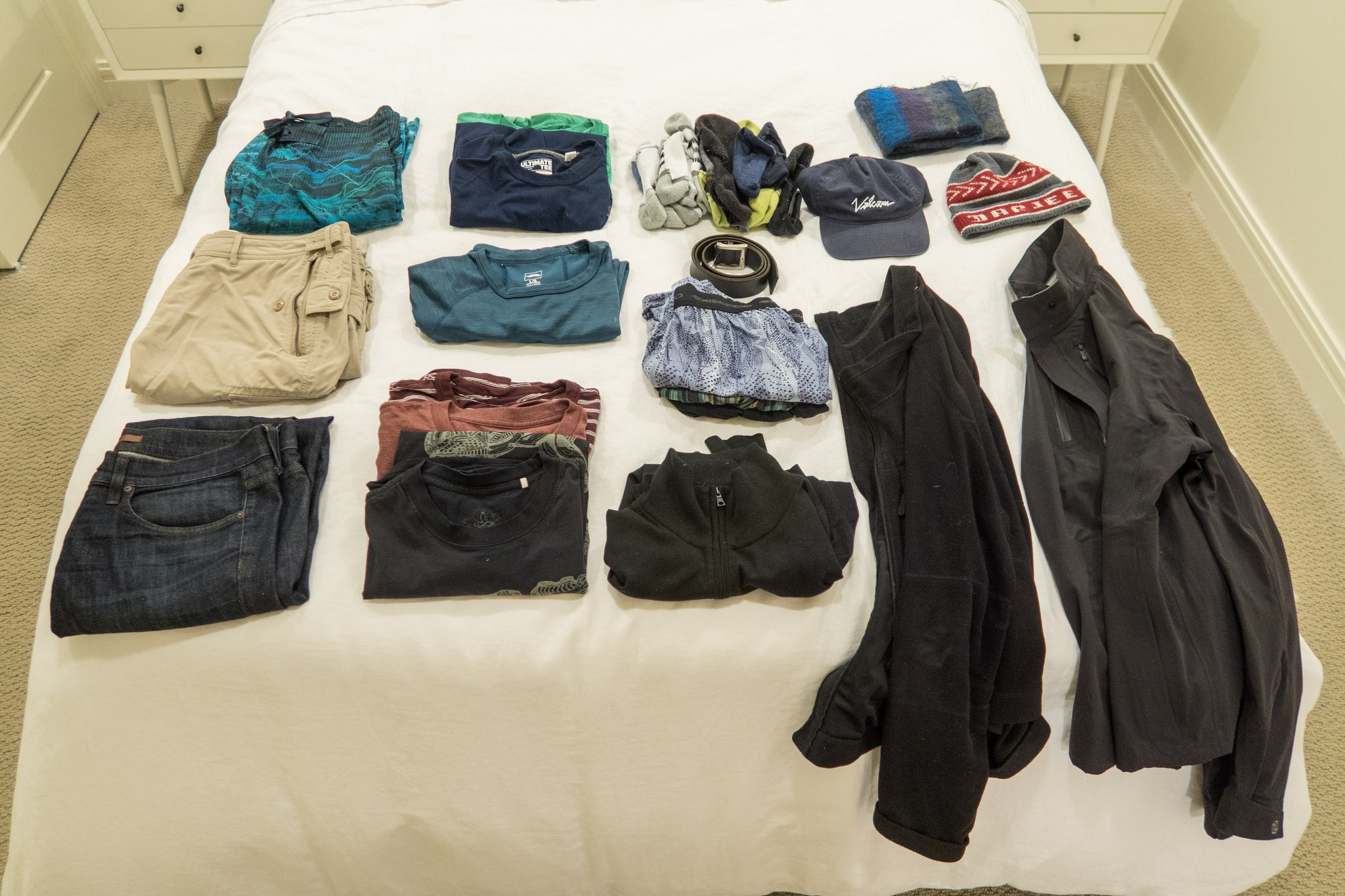 Packing list for a Fall trip to Colorado