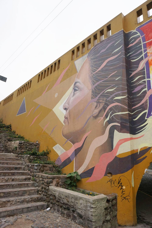 Graffiti in Lima