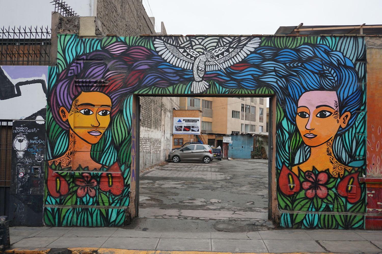 Graffiti trip in Lima, Peru