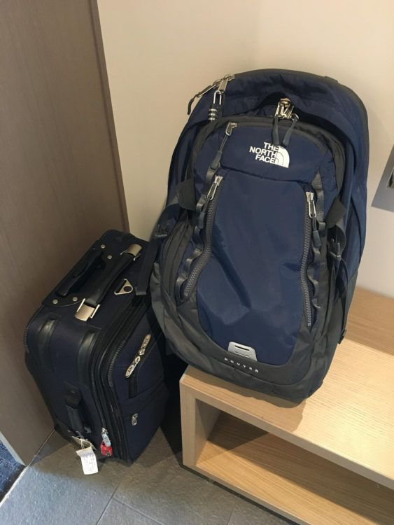Dave's luggage