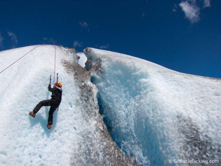 Ice Climbing - Viedma Glacier